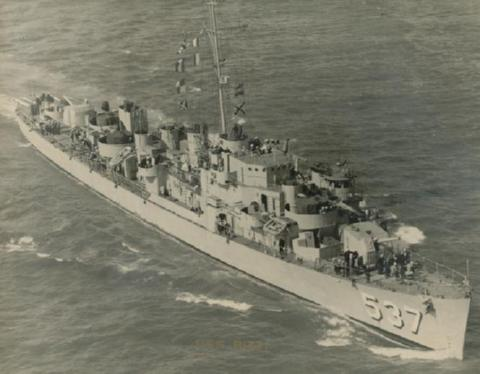 USS THE SULLIVANS (DD-537) Deployments & History