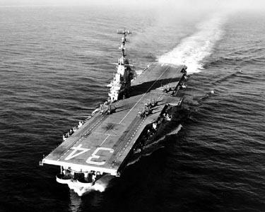 USS ORISKANY (CV-34) Deployments & History